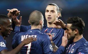 Zlatan Ibrahimovic et le PSG ont facilement disposé du Dinamo Zagreb (4-0).
