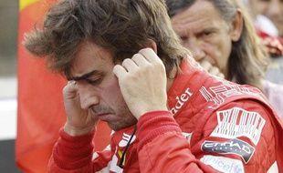 Fernando Alonso, le 14 novembre, après le Grand Prix d'Abou Dhabi.