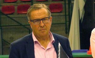 Jean-Luc Cadiot, président du Nantes basket Hermine.
