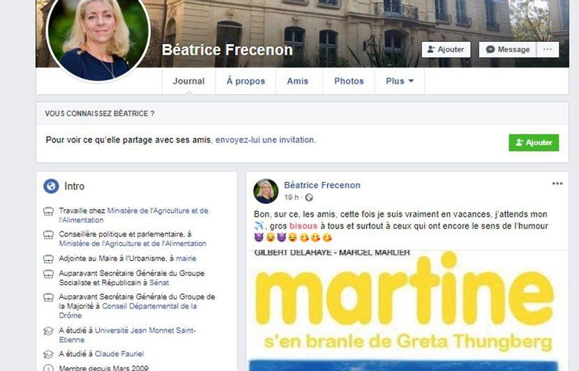 """Résultat de recherche d'images pour """"Martine s'en prend à Greta Thunberg"""""""