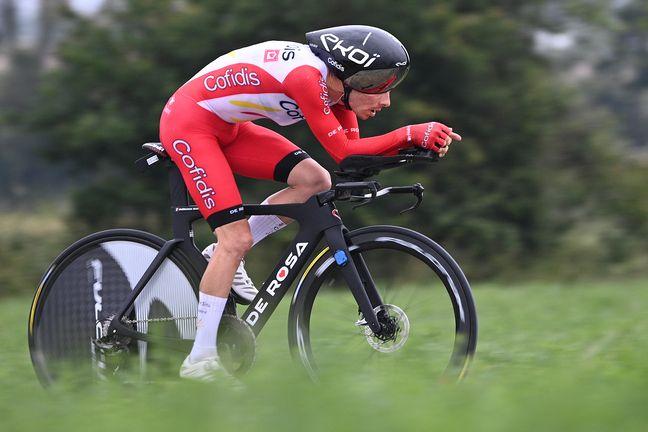 Guillaume Martin est pour l'instant 8e du Tour de France 2021.
