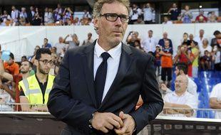 Laurent Blanc avant Montpellier-PSG, le 21 août 2015.
