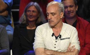 Philippe Poutou lors de l'émission Le Grand Débat, le 4 avril 2017.