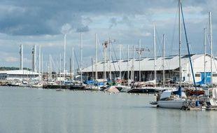 Le site des Bassins à Flot, à Bordeaux