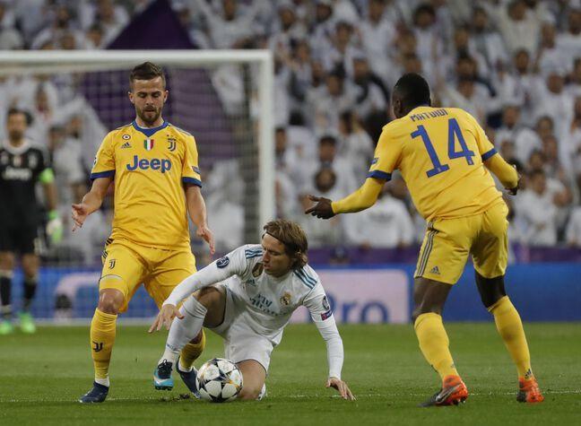 Le Real Madrid et la Juventus lors de leur dernière confrontation en Ligue des champions, en 2018.