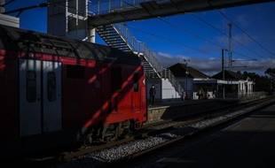 Ce train à grande vitesse Alfa Pendular reliait Lisbonne à Braga dans le nord du pays (illustration)