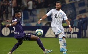 Lors de la rencontre TFC-OM, dimanche 24 novembre au Stadium de Toulouse.