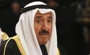 L'émir du Koweït, cheikh Sabah al-Ahmad al-Sabah, en 2017.