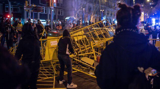 Espagne : Violente manifestation pour la 6e nuit consécutive après l'arrestation d'un rappeur - 20 Minutes