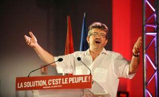 Jean-Luc Melenchon à Toulouse le 30 août 2015