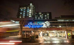 Le Royal free Hospital de Londres en décembre 2014.