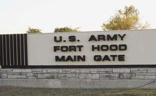 La porte d'entrée de la base militaire américaine de Fort Hood, à Killeen (Texas) où une fusillade s'est produite jeudi 5 novembre 2009.