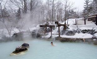 L'onsen apparaît comme une fantastique manière de sublimer le rituel du bain.