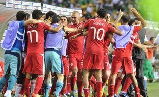 """Un but du Niger entaché d'une faute de main similaire à la """"main de Dieu"""" de Maradona lors du Mondial-86, a complètement décontenancé la Tunisie qui a finalement arraché la victoire 2-1 à la dernière minute du match, vendredi lors de la 2e journée du groupe C de la CAN-2012."""