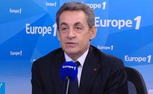 Nicolas Sarkozy sur Europe 1 le 2 décembre 2015.