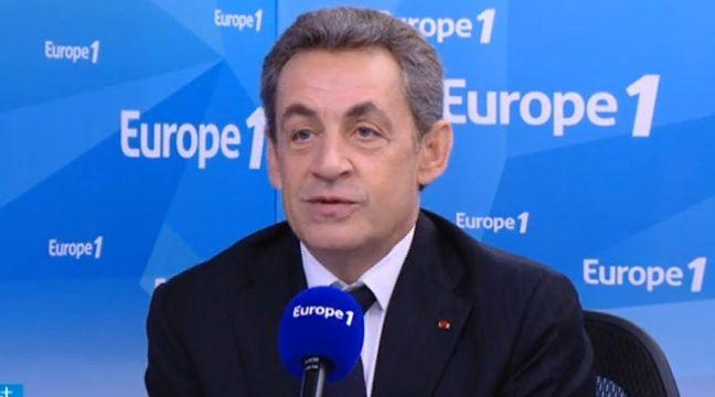 Nicolas Sarkozy sur Europe 1 le 2 décembre 2015. – Europe 1