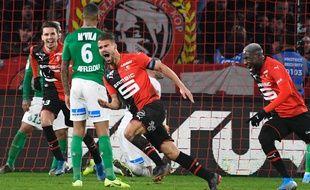 Damien Da Silva a inscrit le but de la victoire dans les arrêts de jeu.
