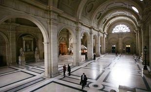 Vue du tribunal correctionnel de Paris prise le 23 février 2015.
