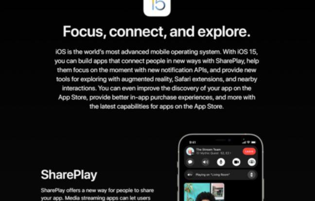 Comment installer iOS 15 avant tout le monde