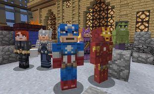 Les superhéros de Marvel ont été recréés dans le monde de