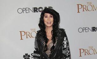 La chanteuse et actrice Cher à Hollywood