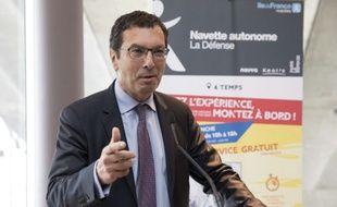 Jean-Pierre Farandou, le nouveau président de la SNCF. (archives)
