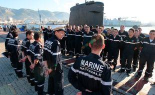 La base navale militaire de Toulon accueille près de 12 000 salariés.