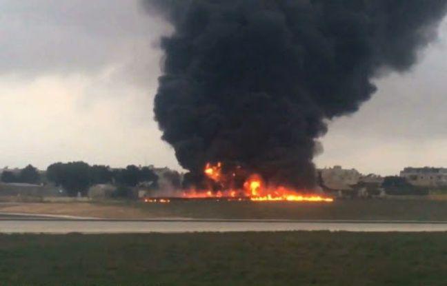 Malte: Cinq douaniers français tués dans le crash d'un avion