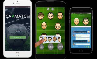 L'application Ça match sortira en janvier 2016 sur iPhone et Android