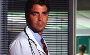 George Clooney alias le Dr Doug Ross dans la série «Urgences»