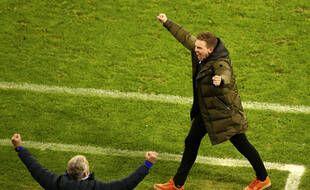 Nagelsmann était fou de joie après la victoire des siens