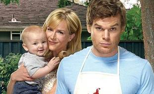 Julie Benz et Michael C. Hall dans Dexter