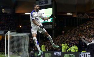 Riyad Mahrez a marqué le but de la victoire de Leicester à Watford, le 5 mars 2016.