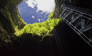 En 2019, le gouffre de Padirac avait accueilli 503.000 visiteurs, un record pour le site souterrain du Lot.