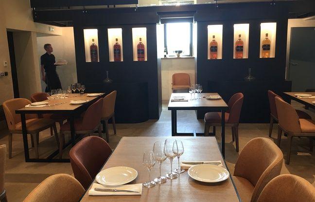 Le restaurant La Chapelle, sur le domaine de château Guiraud (Sauternes).