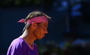 Mauvaise journée pour Rafael Nadal, battu en quart de finale du tournoi de Madrid par Alexander Zverev.