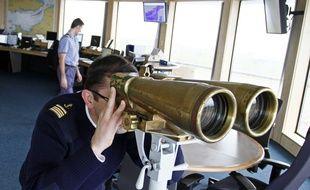 Le Cap Gris Nez, le 7 mars 2012. Le Centre Régional Opérationnel de Sauvetage et de Surveillance (CROSS).