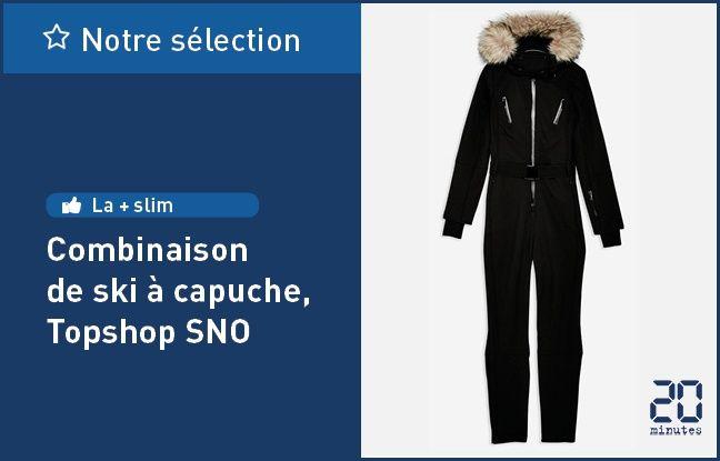 Combinaison de ski à capuche, de TopshopSNO