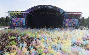 Le festival Solidays, ici en 2019, a été annulé en raison du coronavirus.
