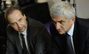 Jean-Christophe Lagarde and Hervé Morin sont arrivés en tête de l'élection à la présidence de l'UDI.