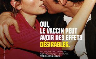 Une des affiches de la campagne de communication de l'ARS Paca