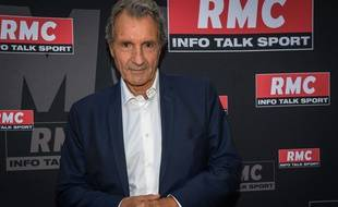Jean Jacques Bourdin à la conférence de rentrée de RMC info talk sport a Paris le 28 août 2019