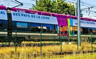Un TER des Pays de la Loire (Illustration).