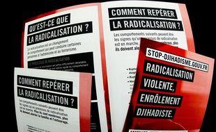 Brochure contre la radicalisation violente (illustration)