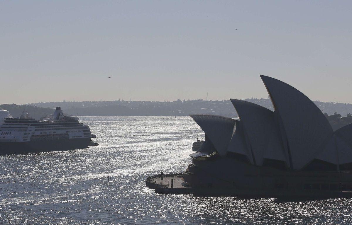 Illustration de l'opéra de Sydney, en Australie. – Rob Griffith/AP/SIPA