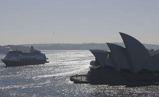 Illustration de l'opéra de Sydney, en Australie.