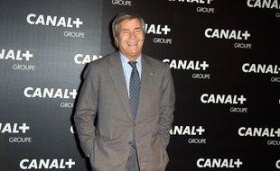 Vincent Bolloré au dîner des animateurs du Groupe Canal + au Manko, à Paris, le 4 février 2016