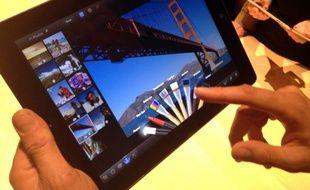 Le nouvel iPad, présenté le 7 mars 2012, propose un écran «retina» à la résolution quatre fois supérieure à celle de l'iPad 2.