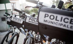 Des vélos utilisés par des policiers municipaux (illustration).