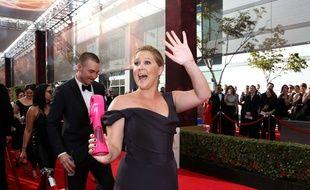 Amy Schumer aux 68e Emmy Awards le 19 septembre 2016, à Los Angeles.